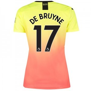 Manchester City Third Shirt 2019-20 - Womens with De Bruyne 17 printing