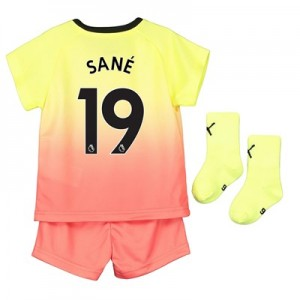 Manchester City Third Baby Kit 2019-20 with Sané 19 printing