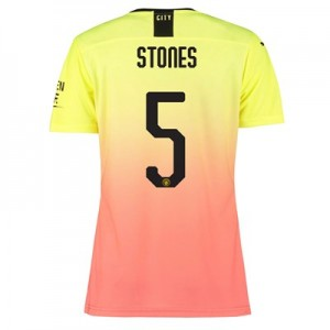 Manchester City Authentic Cup Third Shirt 2019-20 - Womens with Stones 5 printing