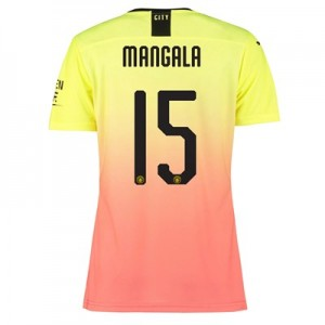 Manchester City Authentic Cup Third Shirt 2019-20 - Womens with Mangala 15 printing