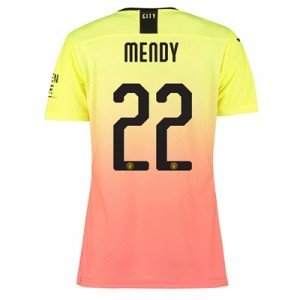 Manchester City Authentic Cup Third Shirt 2019-20 - Womens with Mendy 22 printing