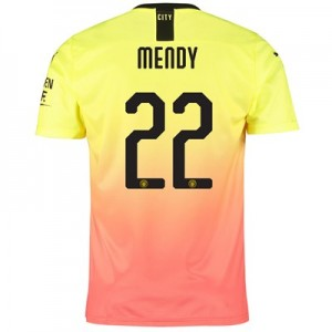 Manchester City Cup Third Shirt 2019-20 with Mendy 22 printing