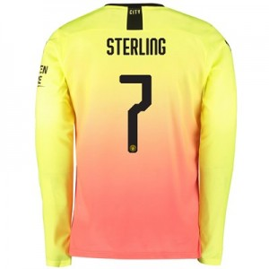 Manchester City Cup Third Shirt 2019-20 - Long Sleeve with Sterling 7 printing