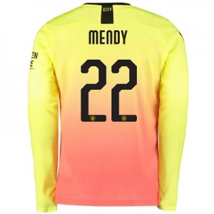 Manchester City Cup Third Shirt 2019-20 - Long Sleeve with Mendy 22 printing