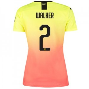 Manchester City Cup Third Shirt 2019-20 - Womens with Walker 2 printing