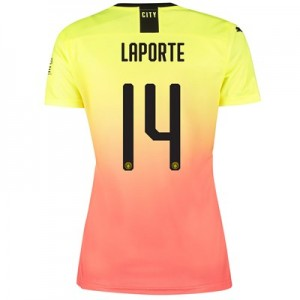 Manchester City Cup Third Shirt 2019-20 - Womens with Laporte 14 printing