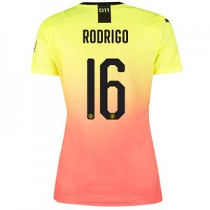 Manchester City Cup Third Shirt 2019-20 - Womens with Rodrigo 16 printing