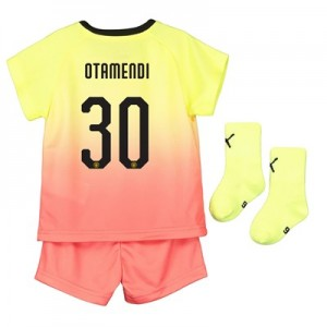 Manchester City Cup Third Baby Kit 2019-20 with Otamendi 30 printing