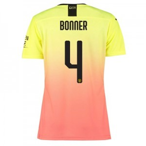 Manchester City Authentic Cup Third Shirt 2019-20 - Womens with Bonner 4 printing