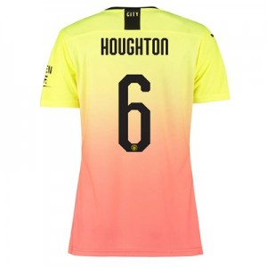 Manchester City Authentic Cup Third Shirt 2019-20 - Womens with Houghton 6 printing