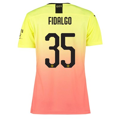 Manchester City Authentic Cup Third Shirt 2019-20 - Womens with Fidalgo 35 printing