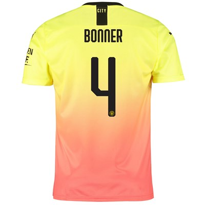 Manchester City Cup Third Shirt 2019-20 with Bonner 4 printing