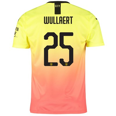 Manchester City Cup Third Shirt 2019-20 with Wullaert 25 printing