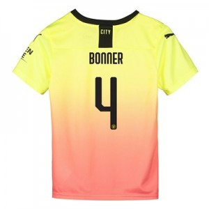 Manchester City Cup Third Shirt 2019-20 - Kids with Bonner 4 printing