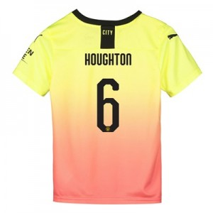 Manchester City Cup Third Shirt 2019-20 - Kids with Houghton 6 printing