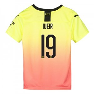 Manchester City Cup Third Shirt 2019-20 - Kids with Weir 19 printing