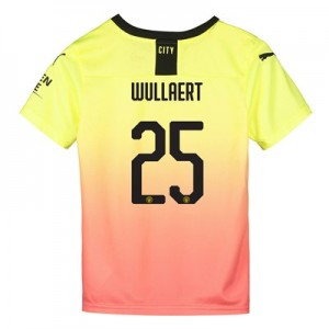 Manchester City Cup Third Shirt 2019-20 - Kids with Wullaert 25 printing
