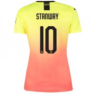 Manchester City Cup Third Shirt 2019-20 - Womens with Stanway 10 printing