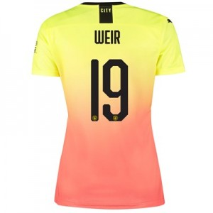 Manchester City Cup Third Shirt 2019-20 - Womens with Weir 19 printing