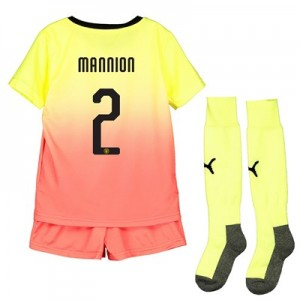 Manchester City Cup Third Mini Kit 2019-20 with Mannion 2 printing