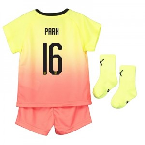 Manchester City Cup Third Baby Kit 2019-20 with Park 16 printing