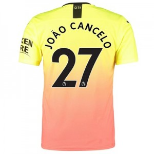 Manchester City Authentic Third Shirt 2019-20 with João Cancelo 27 printing