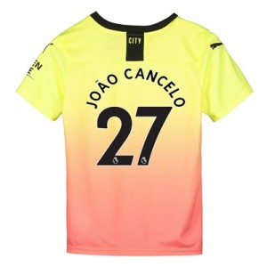 Manchester City Third Shirt 2019-20 - Kids with João Cancelo 27 printing