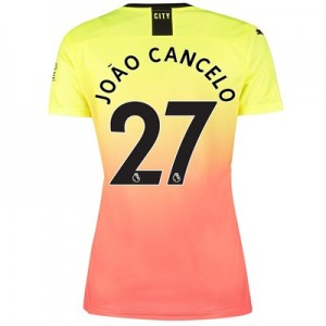 Manchester City Third Shirt 2019-20 - Womens with João Cancelo 27 printing