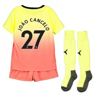Manchester City Third Mini Kit 2019-20 with João Cancelo 27 printing