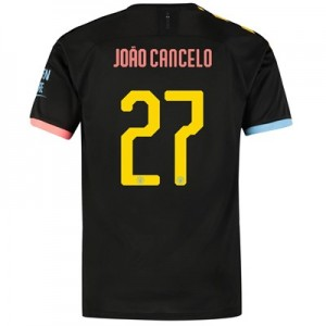 Manchester City Cup Authentic Away Shirt 2019-20 with João Cancelo 27 printing