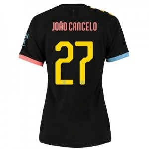 Manchester City Cup Authentic Away Shirt 2019-20 - Womens with João Cancelo 27 printing