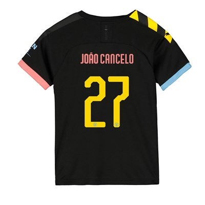 Manchester City Cup Away Shirt 2019-20 - Kids with João Cancelo 27 printing