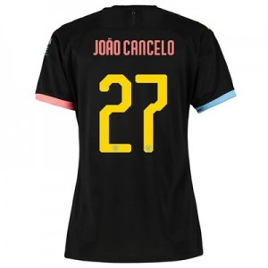 Manchester City Cup Away Shirt 2019-20 - Womens with João Cancelo 27 printing