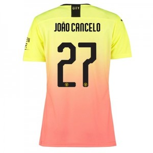 Manchester City Cup Authentic Third Shirt 2019-20 - Womens with João Cancelo 27 printing