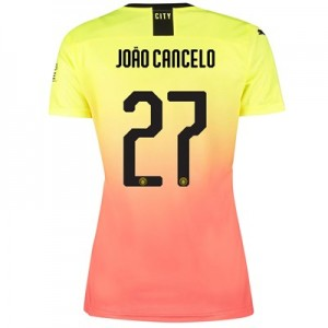Manchester City Cup Third Shirt 2019-20 - Womens with João Cancelo 27 printing