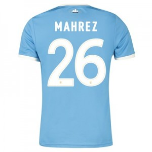 Manchester City 125 Year Anniversary Shirt with Mahrez 26 printing