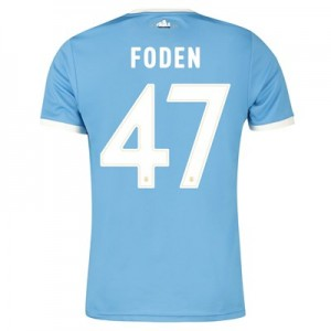 Manchester City 125 Year Anniversary Shirt with Foden 47 printing