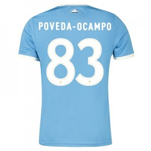 Manchester City 125 Year Anniversary Shirt with Poveda-Ocampo 83 printing