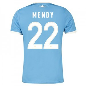 Manchester City 125 Year Anniversary Shirt with Mendy 22 printing