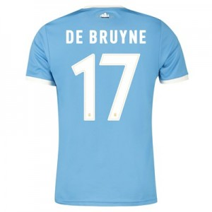 Manchester City 125 Year Anniversary Shirt with De Bruyne 17 printing