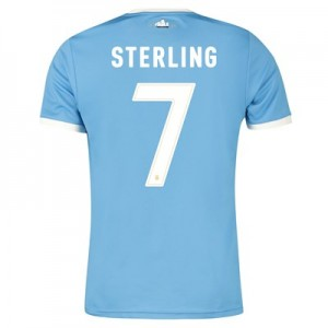 Manchester City 125 Year Anniversary Shirt with Sterling 7 printing
