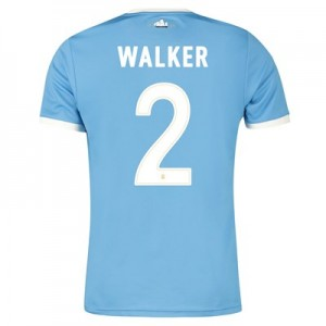 Manchester City 125 Year Anniversary Shirt with Walker 2 printing