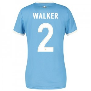 Manchester City 125 Year Anniversary Shirt - Womens with Walker 2 printing