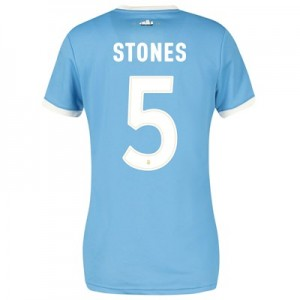 Manchester City 125 Year Anniversary Shirt - Womens with Stones 5 printing