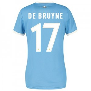 Manchester City 125 Year Anniversary Shirt - Womens with De Bruyne 17 printing