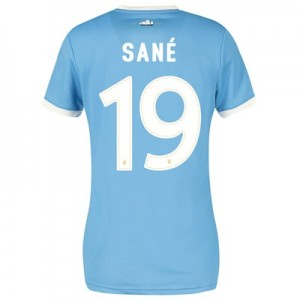Manchester City 125 Year Anniversary Shirt - Womens with Sané 19 printing