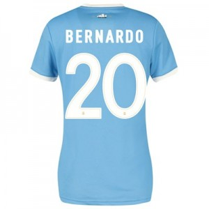 Manchester City 125 Year Anniversary Shirt - Womens with Bernardo 20 printing