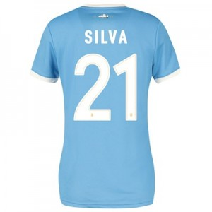 Manchester City 125 Year Anniversary Shirt - Womens with Silva 21 printing