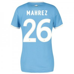 Manchester City 125 Year Anniversary Shirt - Womens with Mahrez 26 printing