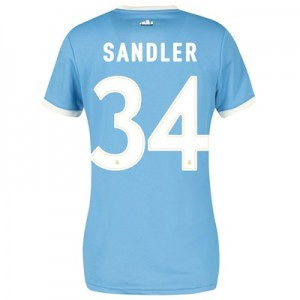 Manchester City 125 Year Anniversary Shirt - Womens with Sandler 34 printing